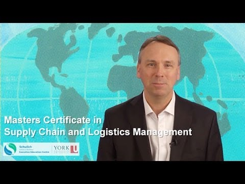 Masters Certificate in Supply Chain and Logistics Management