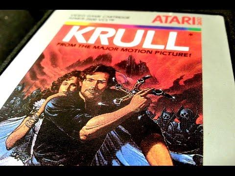 Classic Game Room - KRULL review for Atari 2600
