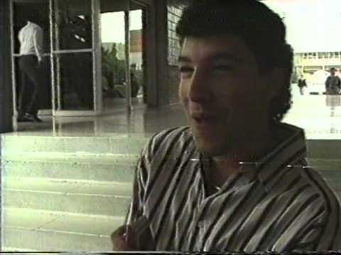 Noticiero Enlace Informativo, producido por alumnos de LCC ITESM Campus Monterrey 1991.
