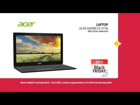 Reclama Altex Black Friday Laptop - Acer