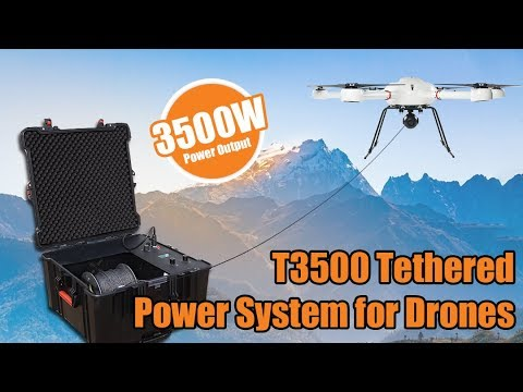 FOXTECH T3500 Tethered Power System for Drones