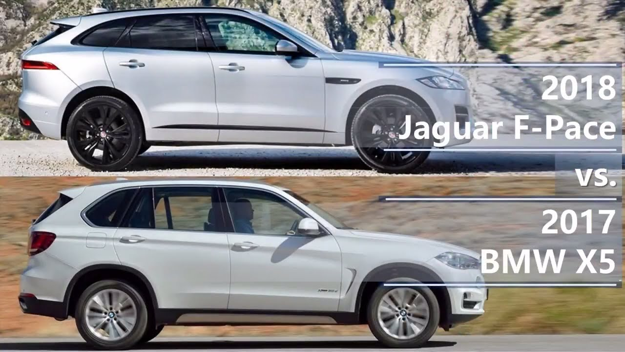 2018 jaguar f pace vs 2017 bmw x5 technical comparison youtube. Black Bedroom Furniture Sets. Home Design Ideas