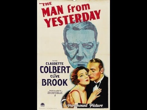 The Man From Yesterday 1932