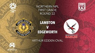 2019 NPL Northern NSW U20s And 1st Grade   Round 22   Lambton Jaffas V Edgeworth Eagles