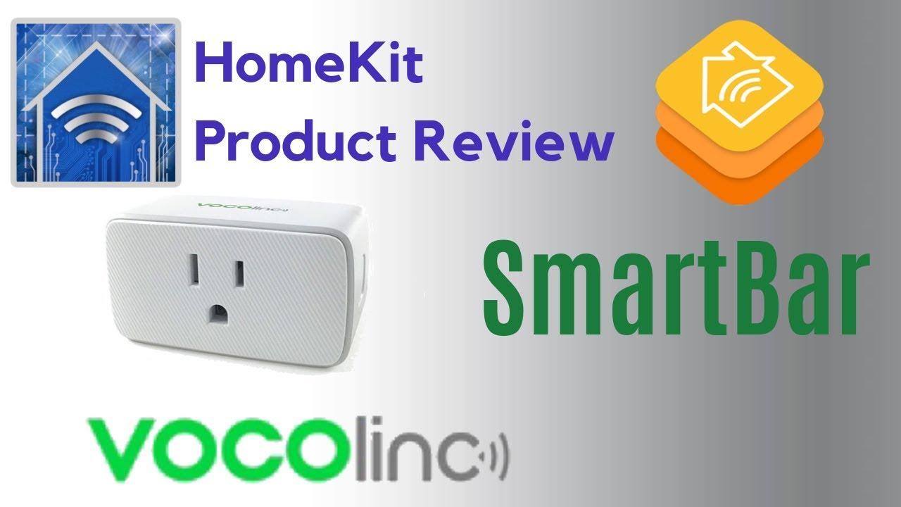 HomeKit Product Review: VOCOlinc SmartBar WiFi Smart Plug