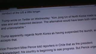 WWIII: ( IF ) KIM JONG UN DECIDES TO FIRE MISSILES @ GUAM, TRUMP SAID CATASTOPHIC/UNACCEPTABLE