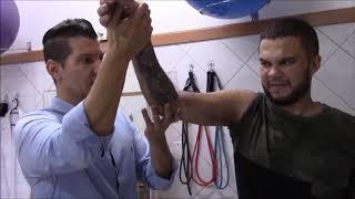 Lesão fisioterapia nervo do do braço para