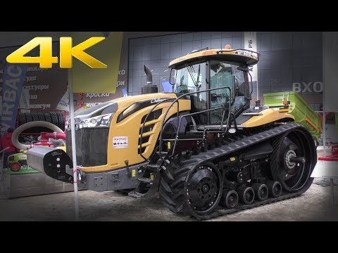Гусеничный трактор Challenger MT865E - американская мощь на помощь российским аграриям. Обзор 2018