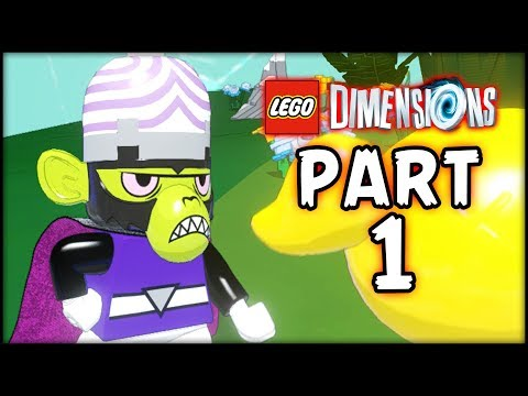 LEGO Powerpuff Girls - Part 1 - Welcome to Townsville! (LEGO Dimensions)