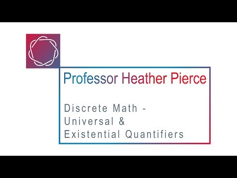 Universal and Existential Quantifiers