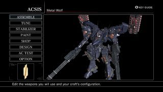 Armored Core: For Answer - Metal Wolf [Xenia Xbox 360 Eumlator - Build 07/03/19]