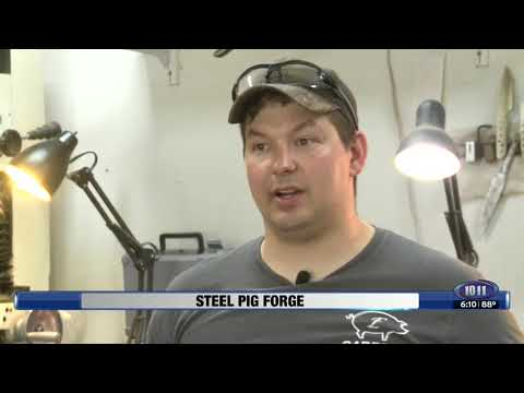Lance's 'Steel Pig Forge' Journal, May 23, 2018