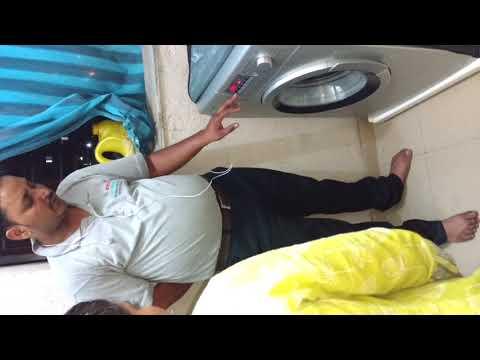 Bosch washing machine series 4 WAK24268IN demo Hindi