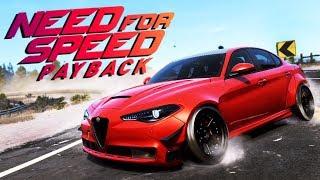 Need for Speed Payback UPDATE PL - 1200 KONNA ALFA GIULIA POD DRIFT!