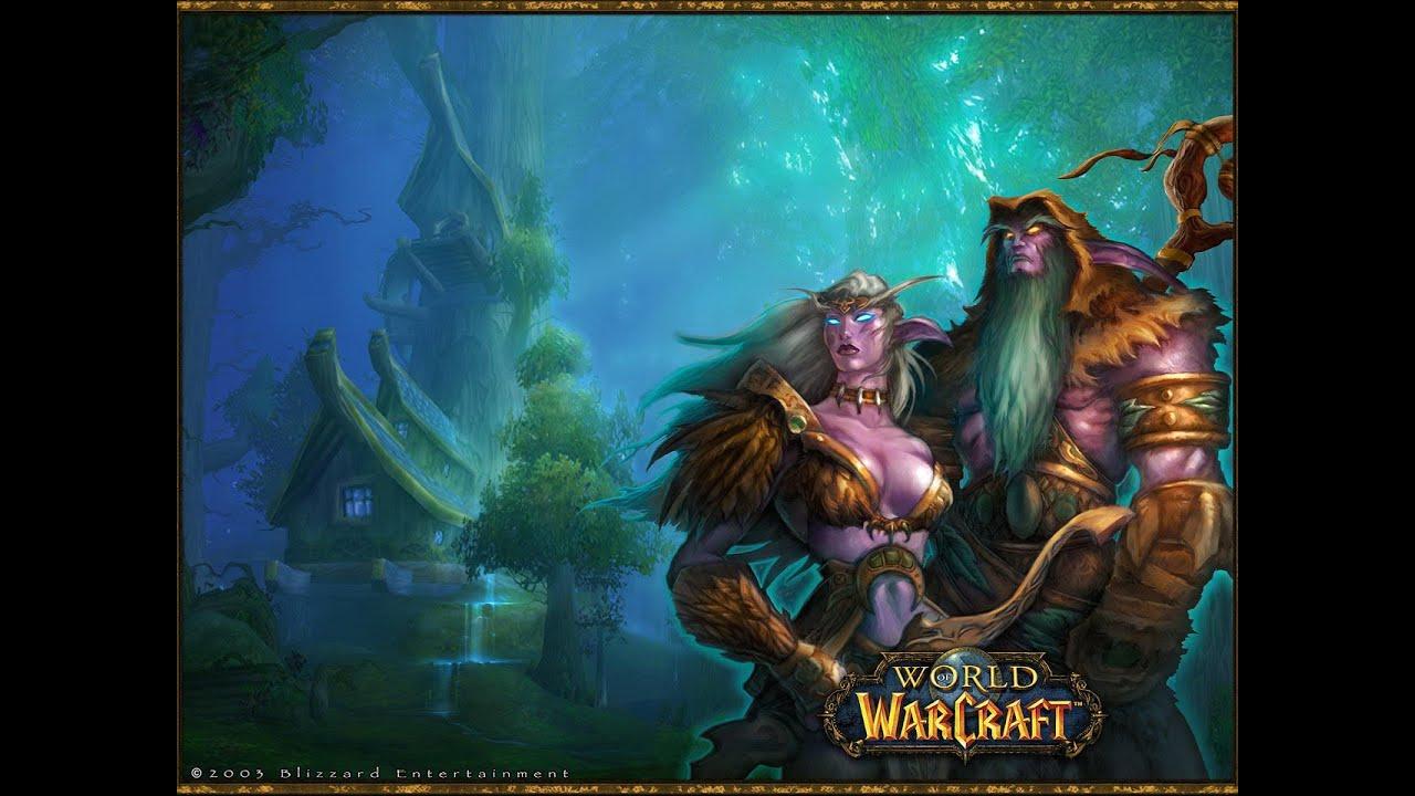 Something and World of warcraft night elf