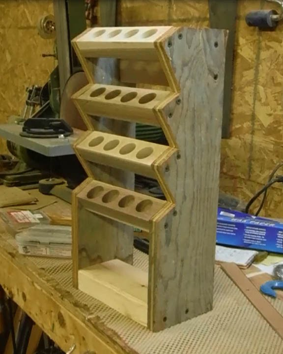 Building A Chisel Rack Youtube