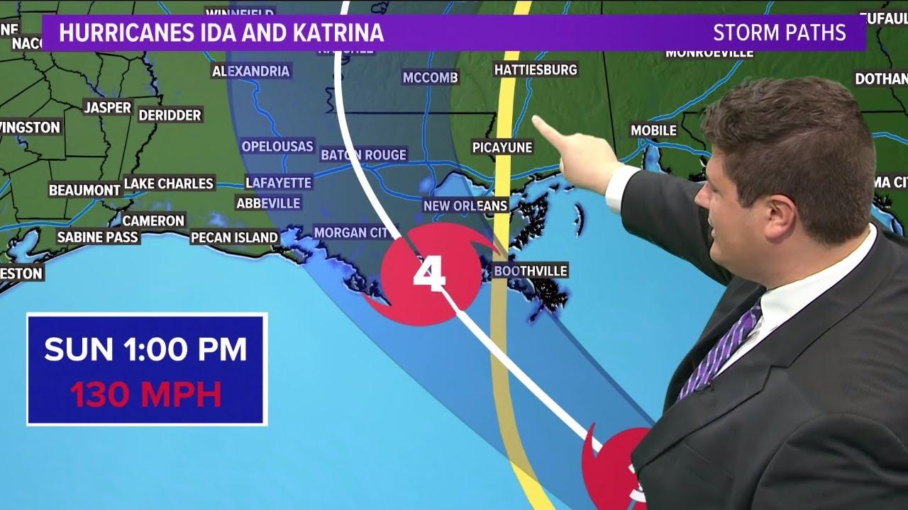 Hurricane Ida vs Hurricane Katrina? What to expect.