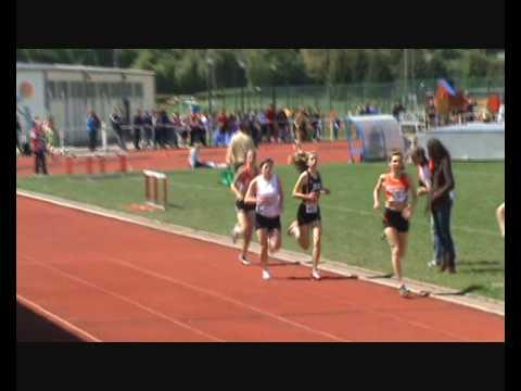 Intercercles Dames 15 Mai 2010 1500M Laurie Mathieu