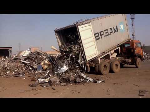 Ni-Met Metals - Container Unloading