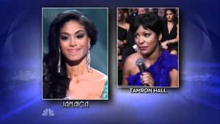 Miss Universe 2010 1st RU - JAMAICA (highlights)