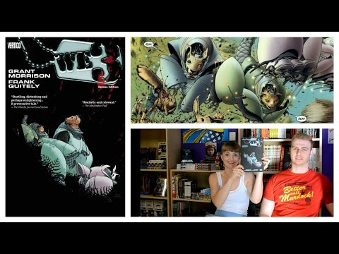 SCI-FI COMIC BOOK REVIEW: We3 By Grant Morrison & Frank Quitely