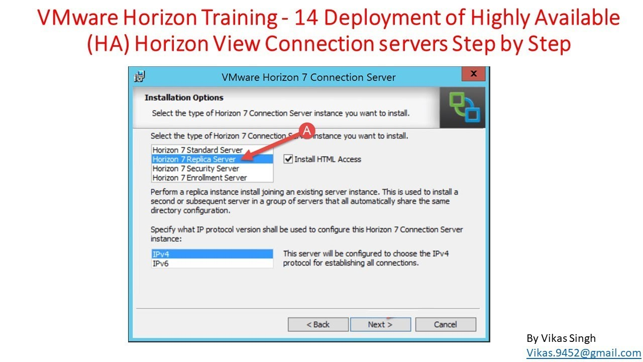 VMware Horizon Training | 14 - Deployment of Highly Available (HA) Horizon  View Connection Servers