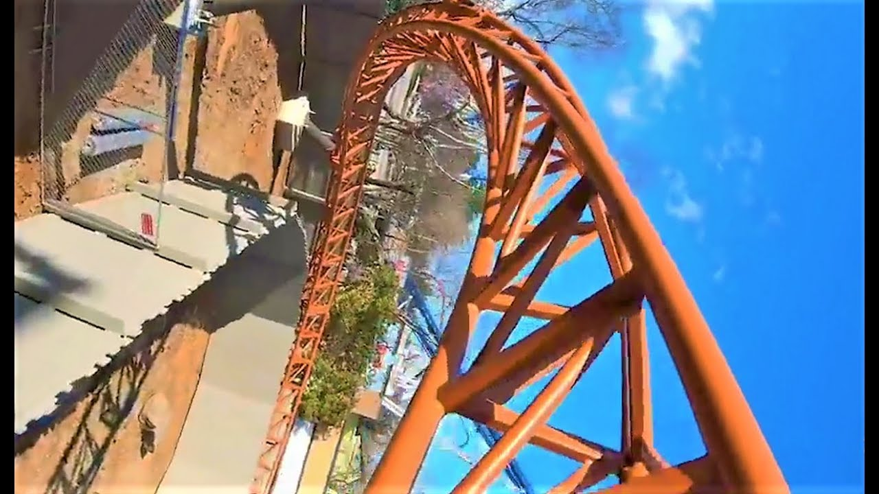 Copperhead Strike POV, Front and Reverse | Carowinds