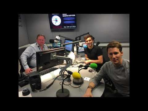 Tom and Lance on Devon Radio
