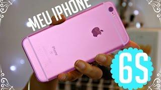 Resenha e Mini Unboxing do iPhone 6s Rose Gold
