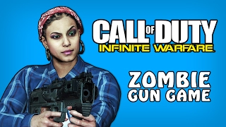 Infinite Warfare Zombies Funny Moments - Rave In The Redwoods Gun Game! (Funny Moments And Fails)