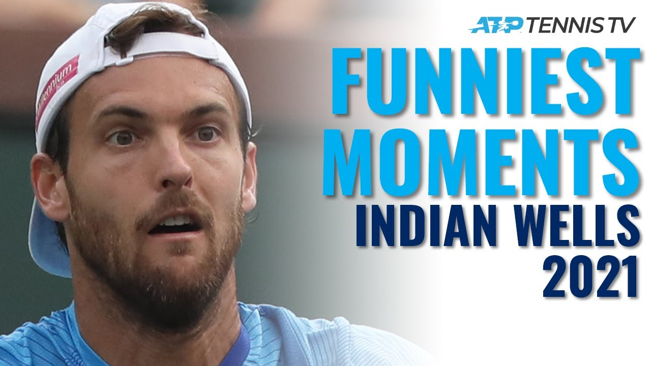 Zverev Shoelace Chaos, Joao Sousa's Threat & Fans Loving Life! | Indian Wells 2021 Funniest Moments
