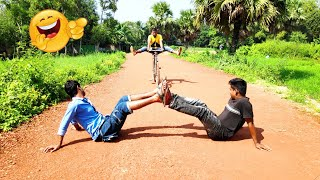 You Must Be Laugh | New Comedy Fun Video | Cycle Fun Boys