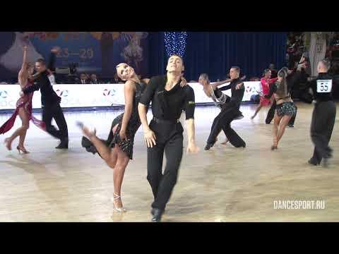 Anton Aldaev - Natalia Polukhina, RUS, 1/32 Cha-Cha-Cha