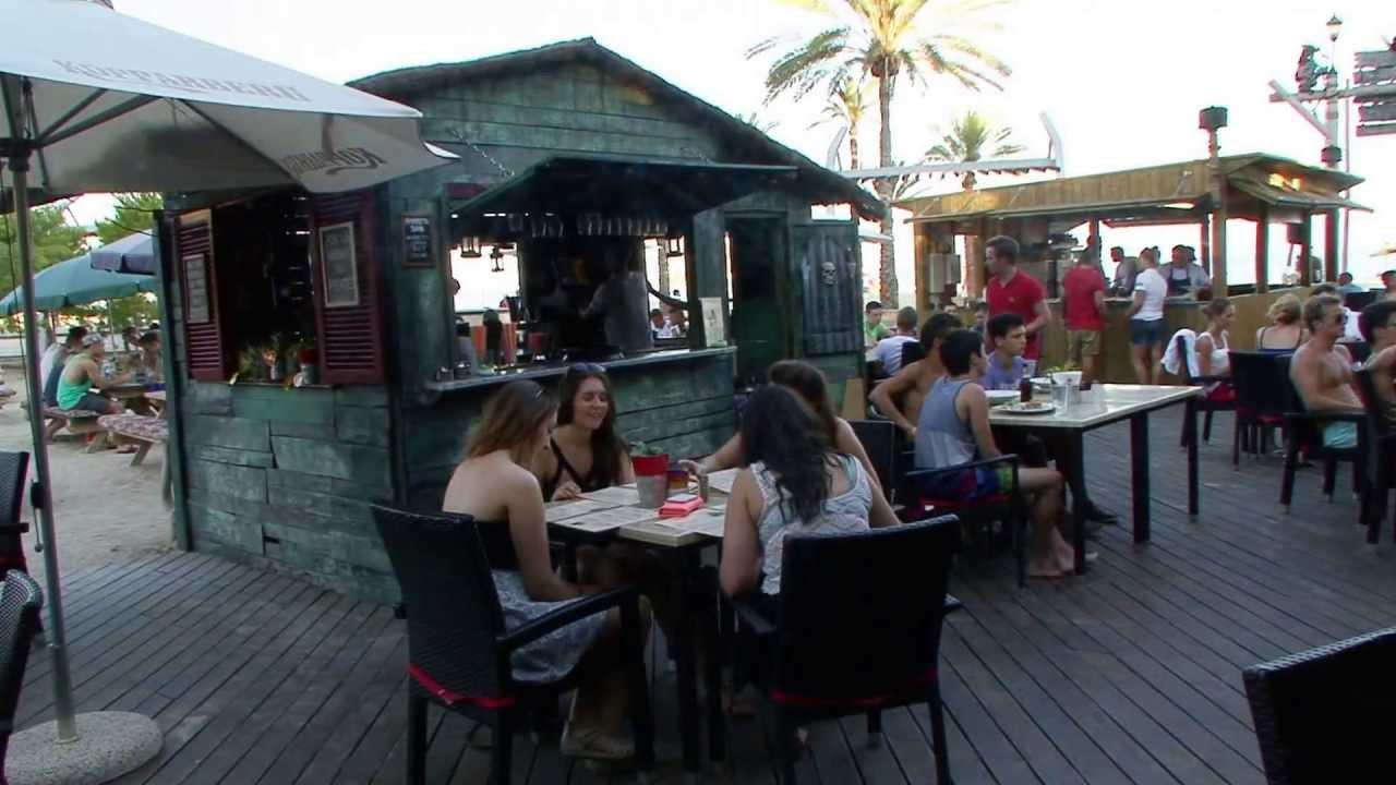 Pirates Beach Bar Grill Magalluf