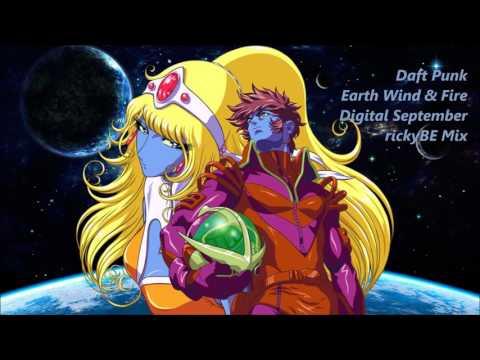Daft Punk VS Earth Wind & Fire | Digital September | rickyBE Mix