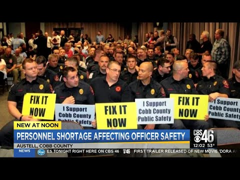 Cobb County officer shortage