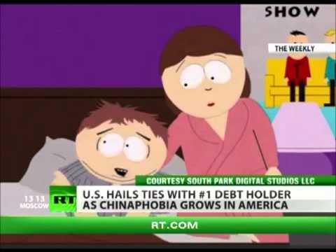 Cartman's Dream about China Invading AmeriKa (2012)