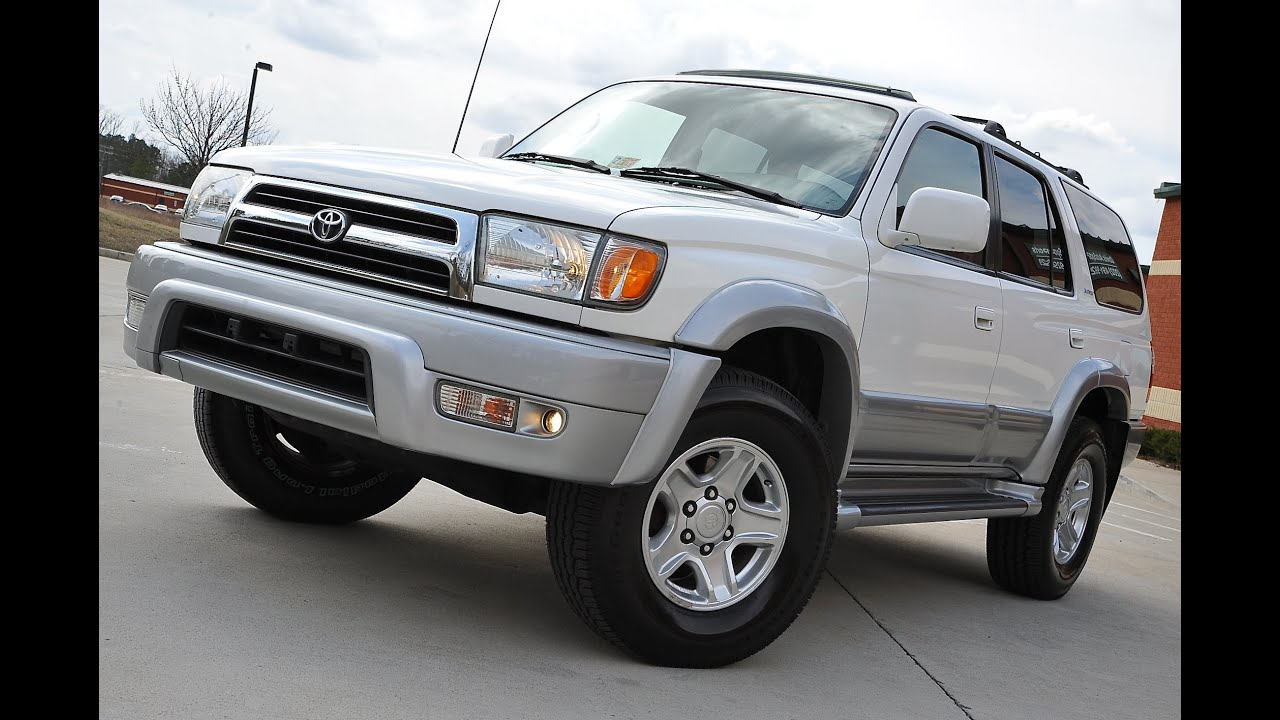 1999 limited toyota 4runner for sale by davis autosports youtube. Black Bedroom Furniture Sets. Home Design Ideas
