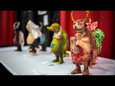 Art Toy Collaborations at Designer Con 2015