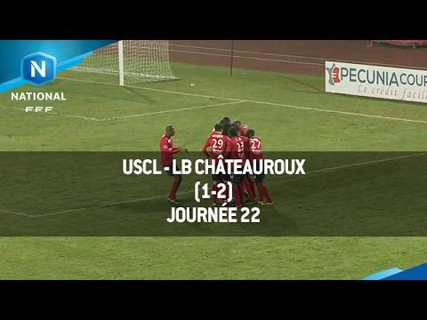 J22 : USCL - LB Châteauroux (1-2), le résumé