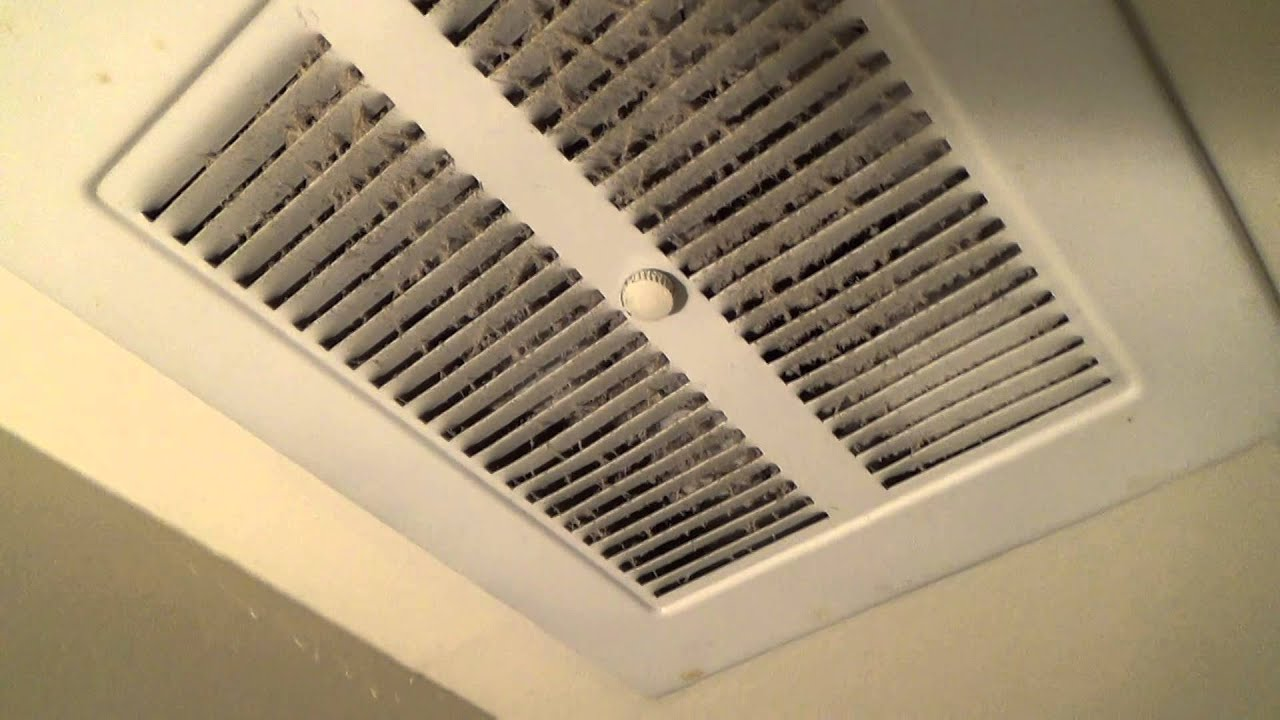 Early70s vintage NuTone exhaust fan  YouTube