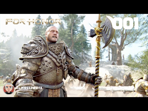 For Honor #001 - Fürsten und Feiglinge [PS4] Let's play 4 Honor Story Mode