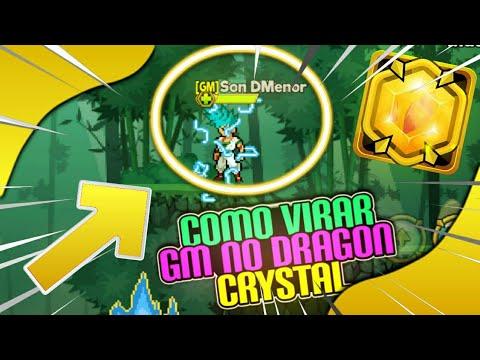 VIREI GM!? COMO VIRAR GM DO DRAGON CRYSTAL!!! + MEGA CÓDIGOS DE DIAMANTES (TROLEI O GM BATIMA) KKK