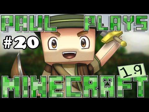 Paul Plays Minecraft 1.9 - E20 - Mine Shaft Speed Run! (Minecraft Survival)