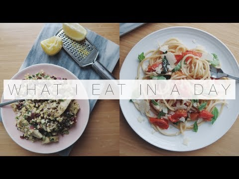 What I Eat In A Day: 15 Minute Meals | The Anna Edit | AD