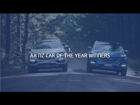 AA Car of the year - Tucson and Santa Fe