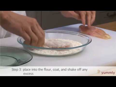 How To Dredge Cooking Basics By Yummly Youtube