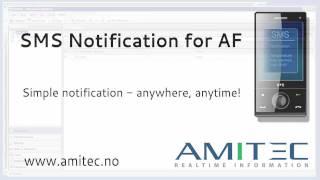 AF'için Osısoft AF kullanarak 'Amitec SMS Bildirimi SMS Bildirimi oluşturun
