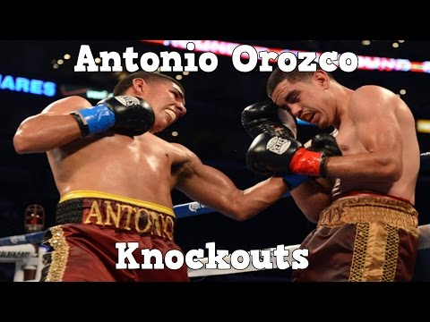Antonio Orozco - Highlights / Knockouts