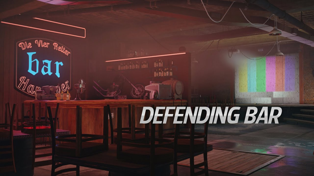 defending bar on clubhouse rainbow six siege youtube. Black Bedroom Furniture Sets. Home Design Ideas